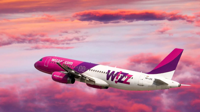 Wizz Air открывает 4 новые направления из Пулково